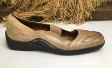 Auditions Brown Leather Walking Casual Shoe Women's sz 9 N  186390