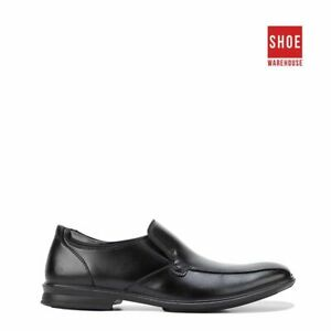 Hush Puppies CAHILL Black Mens Slip-on Dress/Formal Leather Shoes
