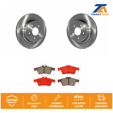 Rear Disc Rotors & Semi-Metallic Brake Pads Fits 2008-2010 Chevrolet Cobalt