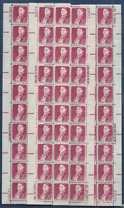 USA-United States 1968 50c Postage Lucy Stone 4 x Strips of 20 Scot 1293 MNH