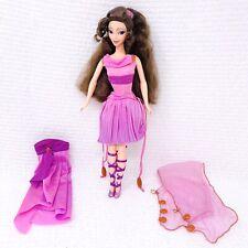 Mattel 1996 Disney Hercules Fashion Secrets Megara Doll
