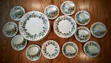Service For 9+ Lavinia Cream Color Bone China by Royal Worcester 53 Pieces