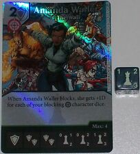 Foil AMANDA WALLER: THE WALL 41 Green Arrow and The Flash Dice Masters