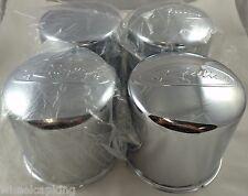 Raceline Wheels Chrome Custom Wheel Center Caps Set of 4 (6 LUG)