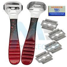 CALLUS REMOVER Hard Skin Dead CORN Cutter Shaver Pedicure FOOT TOOL + 10 BLADES