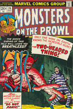 MONSTERS ON THE PROWL #26 F, Marvel Comics 1973