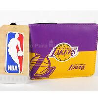 NBA Lakers Wallet Los Angeles Lakers Logo Bi Fold Wallet New Cartera Lakers