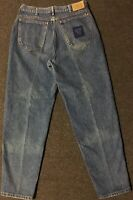 Vtg 80s Lee Skyriders Jeans 32/32 Union Made USA Tapered Grunge 90s Tommy Retro