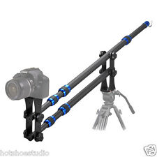 Portable Mini Compact Carbon Fiber Camera Crane Jib Arm 1.8kg only 2m extention
