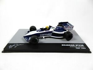 Formule 1 Brabham BT52B Ayrton Senna Test 1983 - 1/43 Altaya Voiture F1 695
