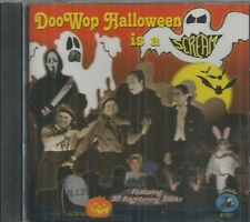 DOO WOP HALLOWEEN IS A SCREAM - CD -  27 Frightening Tracks - BRAND NEW