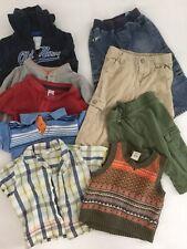 Boys 12 18 Mos Toddler Huge Lot Of 9 Pants Shirts Summer Vest Sweatshirt