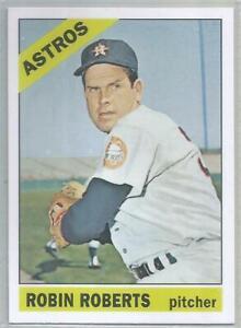 ROBIN ROBERTS HOUSTON ASTROS 1966 TOPPS REPRINT BASEBALL CARD