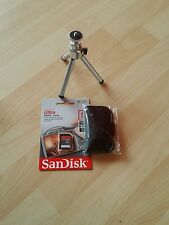 Sandisk Ultra 8GB SDHC Memory Card 30MB with extendable tripod