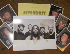 SEVENDUST Autographed Photo & Photos REAL Collectible