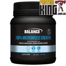 BALANCE 100% MICRONISED CREATINE 250G allmax bsc optimum body science universal