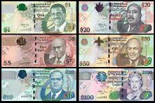 Bahamas 1.5.10. 20. 50. 100$  UNC