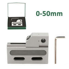 """Wire Edm High Precision Vise Stainless Steel 2"""" Jaw Opening 50Mm Clamping Fast"""