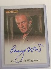 "Spartacus Vengeance - Craig Walsh-Wrightson ""Solonius"" Autograph Card"