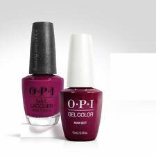 Opi Matching GelColor + Nail Polish - B78 Miami Beet 0.5oz