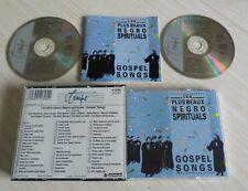 BOX 2 CD GOSPEL SONGS LES PLUS BEAUX NEGRO SPIRITUALS 44 TITRES 1991