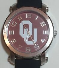 New Oklahoma Sooners Mens Watch, Gift for Him Anniversary