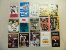 33 SWEET  Pittsburgh Penguins  pocket schedules