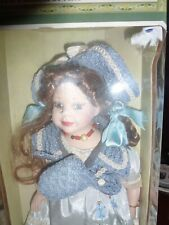 """Porcelain Doll Girl Katherine Collection by Timeless Treasuures 16"""""""