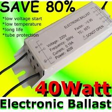 40W 220V electronic CHOKE Fluorescent Light TL-D Tube Ballast replace DIY DECO