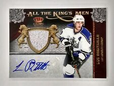 LUC ROBITAILLE 2011-12 Crown Royale All Kings Men Materials AUTO JERSEY 03/10
