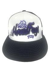TCU Horned Frogs Hat Mesh Trucker Snapback Baseball Cap Top Of The World
