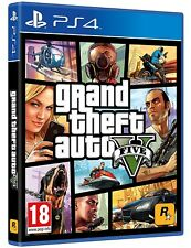 GTA 5 / Grand Theft Auto V - PS4 neuf sous blister