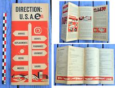 Guide ancien Direction USA, US Department of Commerce, c. 1960, très bon état,