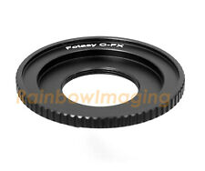 16mm C-Mount Cine Movie lens to Fujifilm X Pro1 X-E1 X-E2 X-T1 X-M1 X-A1 Adapter