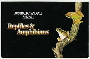 1982 STAMP PACK 'AUSTRALIA ANIMALS SERIES II' - GREAT CONDITION WITH MNH STAMPS