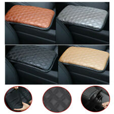 Universal Car SUV Armrest Pad Cover Auto Center Console PU Leather Cushion Firm