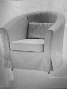 Bezug Beige für Ikea Sessel Tullsta Lofallet Hussen Sessel waschbar NEU&OVP