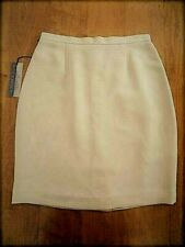 NWT Petite Sophisticate Women's Collectibles Pencil Lined skirt Size 8 Beige