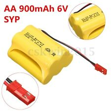 Ni-Cd AA 900mAh 6V JST-SYP Plug Rechargeable Battery For Led Solar Light Power
