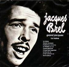 JACQUES BREL - GRAND JACQUES (NEW SEALED CD)