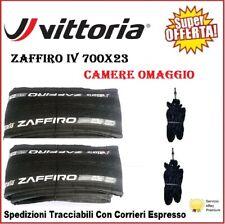 Copertoncini 700X23 Vittoria ZAFFIRO IV Bici Corsa Strada Pieghevole 2 Pz Gomme