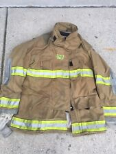 Firefighter Globe Turnout Bunker Coat 52x35 G Xtreme No Cut Out 2008