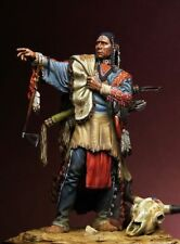 1/24 Scale Sioux Warrior Office 75mm Figure High Quality Resin Kit