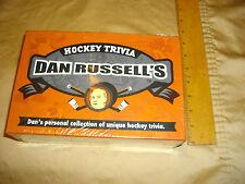 hockey trivia dan russell's CKNW RADIO  sealed board game