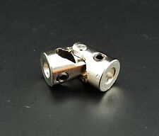 Flexible kleine Kardan Kupplung Gelenkkupplung Wellengelenk Stahl Metall 6x6 mm