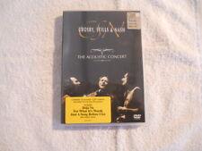 "Crosby Stills & Nash ""The Acoustic concert""  2004 DVD Rhino Warner Ntsc New"