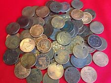 Early U.S. Large Cent CULL Coins / 1808-1857 / Coronet Braided Classic / 1 COIN