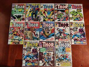 Marvel Comics Mighty Thor #380-383 385 389 393 394 396-399 13 Comic Book Lot