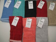 Cuisinart set of 2 kitchen towels rayon from bamboo eco-friendly absorbent