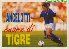 ANCELOTTI CUORE DI TIGRE FIGURINE STICKER WORLD CUP VALLARDI MONDIALE ITALIA 90